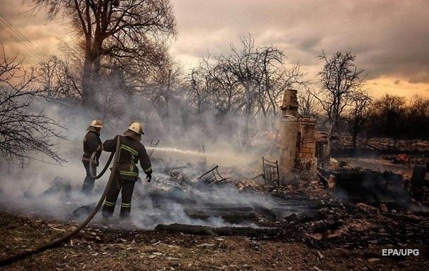 Власть оценила убытки жителей Житомирской области от пожаров