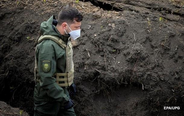 Зеленский обещает новую тактику по Донбассу