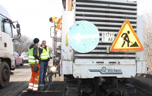 Реалізація президентської програми  Велике будівництво доріг  на Луганщині потре