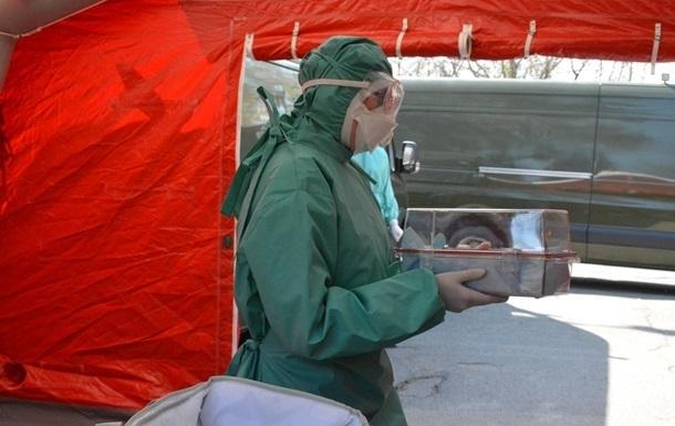 У військовому госпіталі Харкова спалах коронавірусу