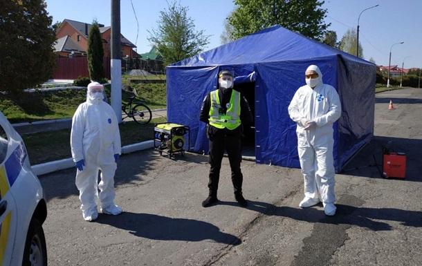 У Рівненській області заблокували село через спалах коронавірусу