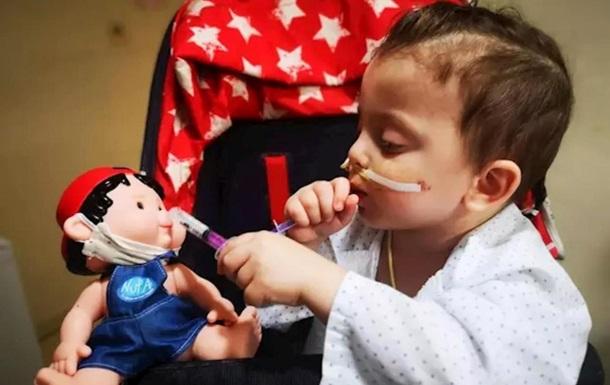 В Испании ребенку одновременно пересадили шесть органов