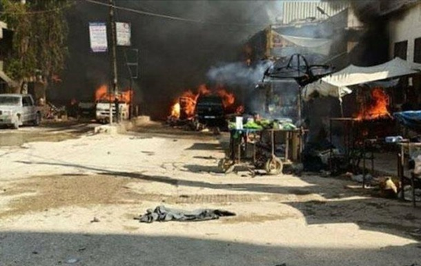 В Сирии при взрыве цистерны с топливом погибли 40 человек