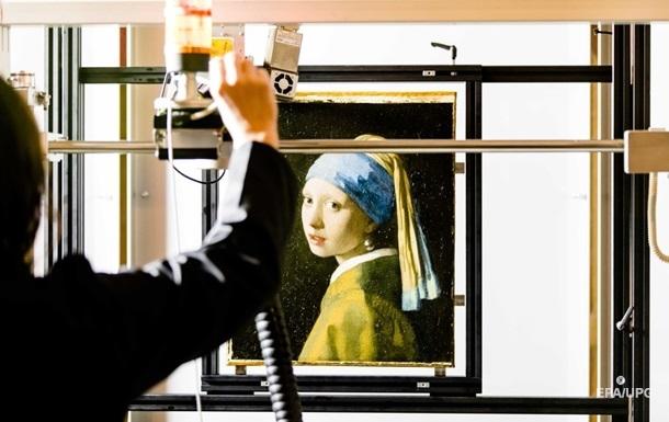 Вчені розкрили секрети картини Дівчина з перловою сережкою