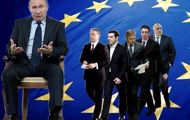 Скільки коштують європейські  друзі Путіна