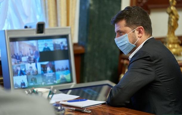 У Зеленского обсудили динамику COVID-19 в Украине