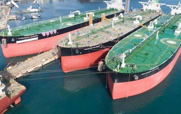 В мире закончились свободные крупные нефтяные танкеры