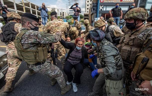 В Ливане из-за карантина идут стычки с армией
