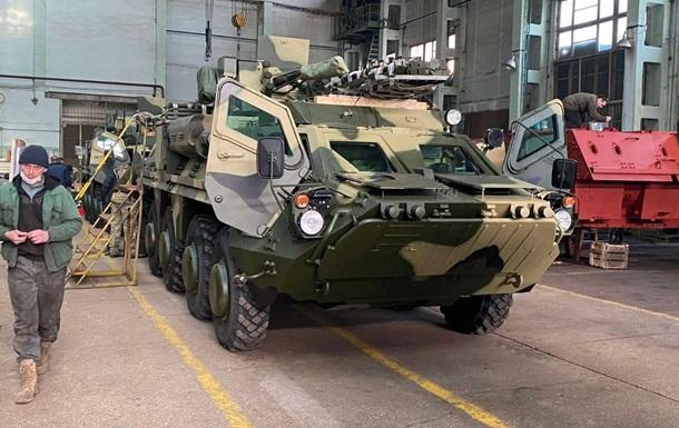 ВСУ получили из Харькова новую партию БТР-4Е