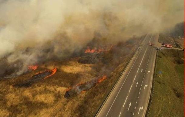 СБУ: пожары в зоне отчуждения ЧАЭС - поджог