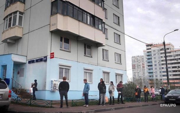 В России почти 8000 случаев коронавируса за сутки