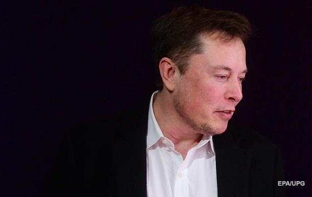 Маск обвалив акції Tesla, назвавши їх занадто дорогими