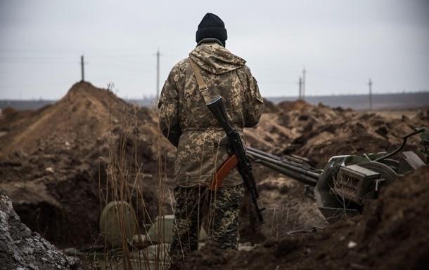 За сутки на Донбассе ранен военный