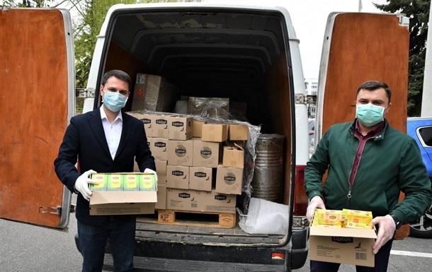 Міжнародна компанія   UNILEVER Україна   надала продукцію для потреб медиків та лікарень на суму в 1 млн гривень