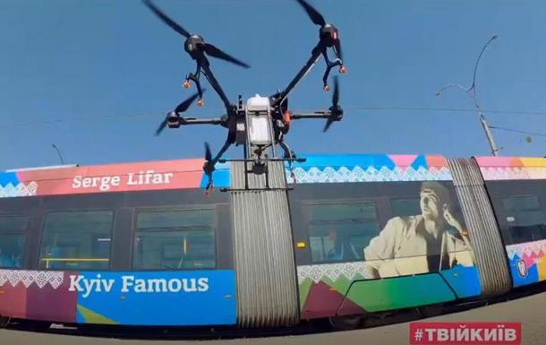 У Києві проводять дезінфекцію дронами