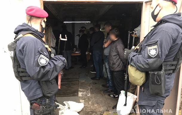 У Київській області затримали банду  поліцейських