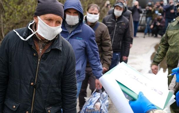 Суд заарештував одного із звільнених за обміном на Донбасі
