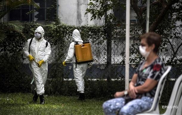 В Бразилии новый рекорд смертей от коронавируса