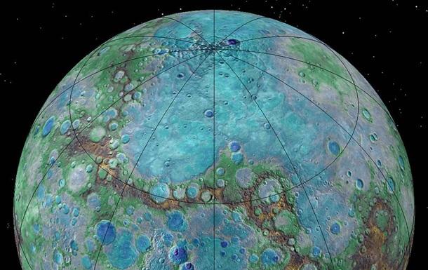 Створена колірна карта поверхні Меркурія