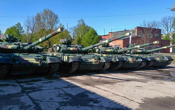 Модернізовані танки передані в ЗСУ