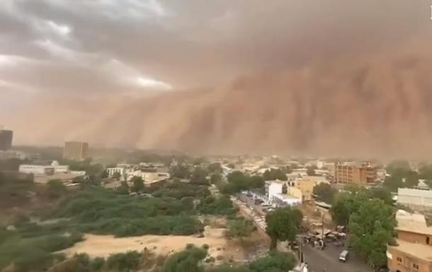 Столицю Нігеру накрила потужна піщана буря