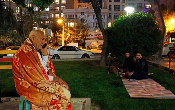 Землетрясение в Иране. Фоторепортаж