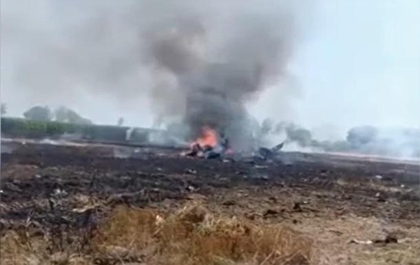 В Индии разбился истребитель МиГ-29