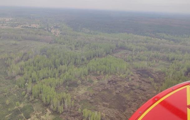 На Житомирщині ліквідували ще одну лісову пожежу