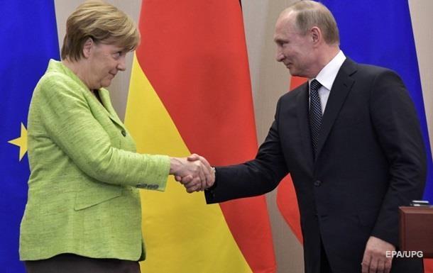Путін і Меркель провели телефону розмову в День пам яті і примирення