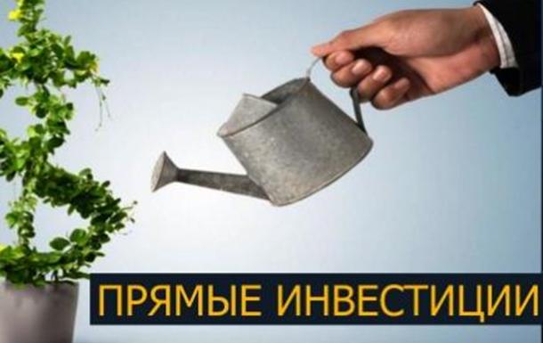 Прямые инвестиции в Украину