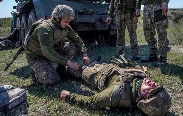 На Донбассе ранили бойца ВСУ − штаб