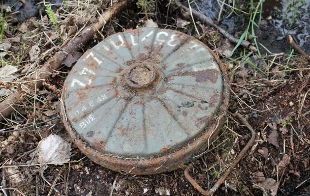 В России нашли противотанковое минное поле
