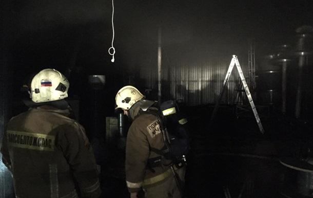 В Подмосковье горел хоспис, погибли десять человек