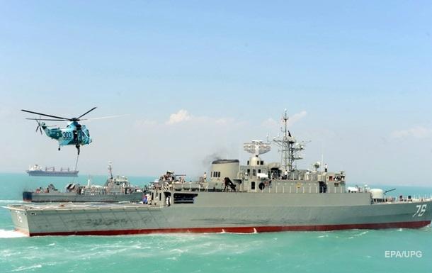 Военное судно Ирана потопило свой корабль