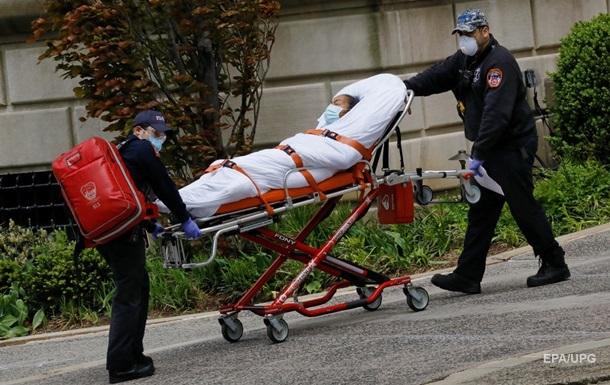 В США выросло число смертей от коронавируса