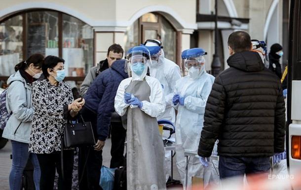 В Україні знизилася кількість нових випадків COVID