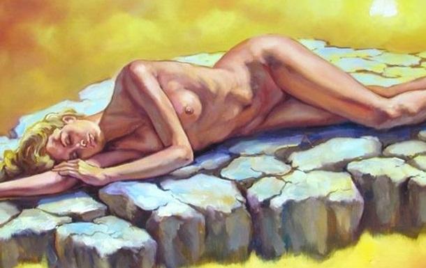 Костянтин Шиптя ідеальний художник райського світу неймовірних жінок
