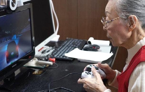 Самым старым геймером в мире стала 90-летняя японка: фото, видео