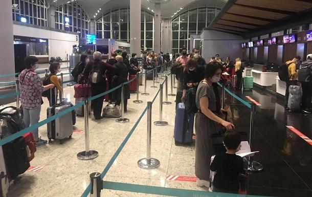 Из Турции эвакуировали сотню украинцев