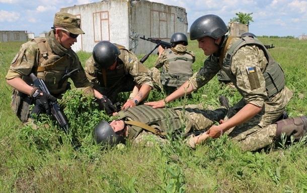 На Донбассе за сутки дин погибший и двое раненых