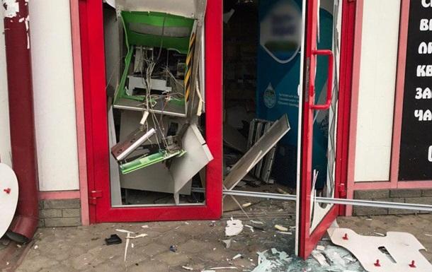 Ночью в Харькове взорвали банкомат