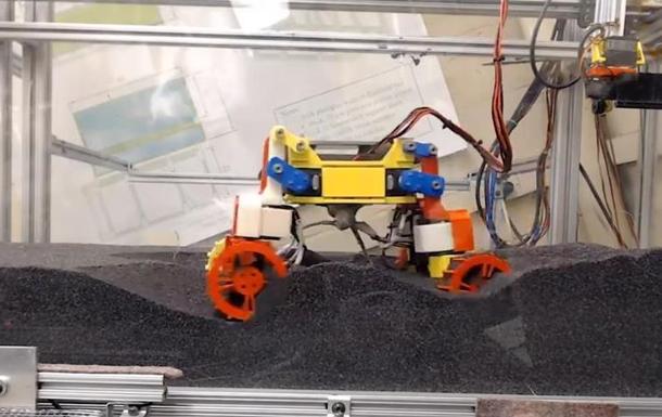 В США тестируют игрушечный вездеход для Марса