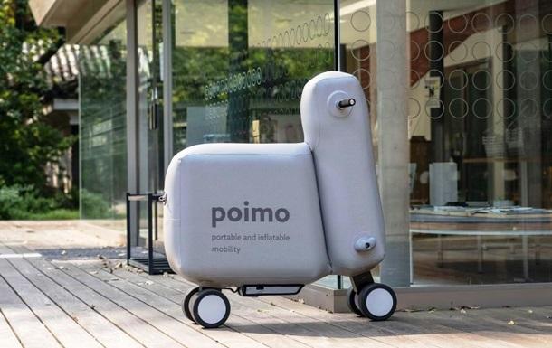 Японцы представили надувной электроскутер: фото, видео