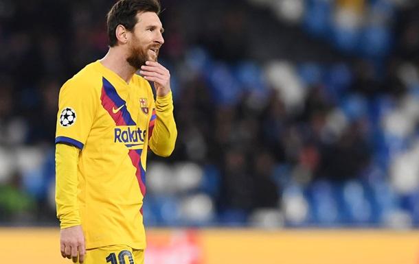 Месси: Я жду возвращения футбола, но без болельщиков это будет странно