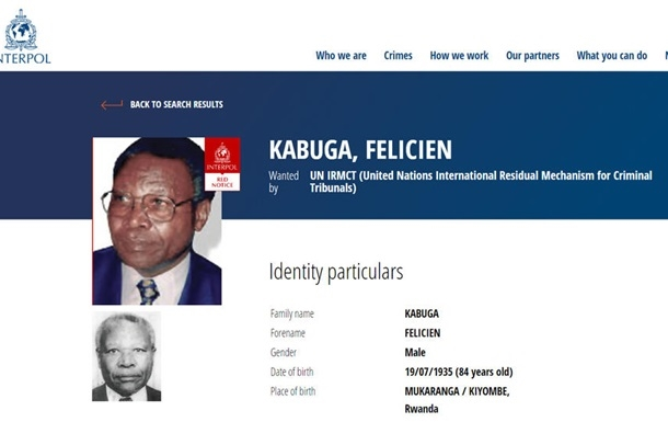 Во Франции задержали самого разыскиваемого человека в Руанде
