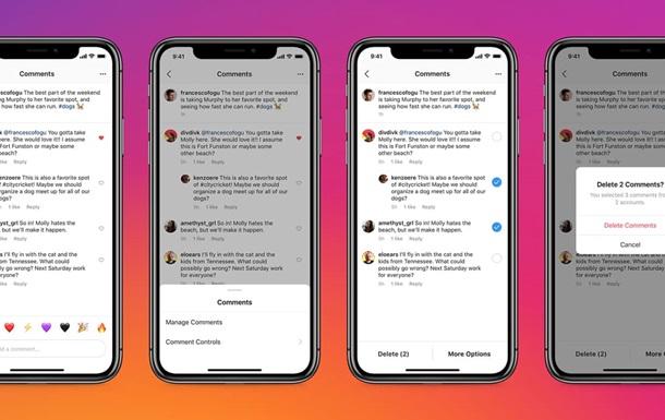 В Instagram появятся новые функции для комментариев