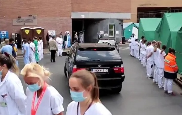 Бельгійські медики влаштували  коридор ганьби  прем єр-міністру
