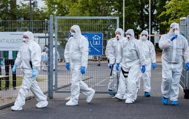 У гуртожитку для біженців у ФРН виявлено 70 заражень коронавірусом