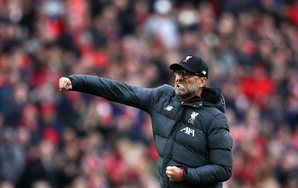 Клопп: Мы первые в таблице, Ливерпуль должен стать чемпионом в этом сезоне