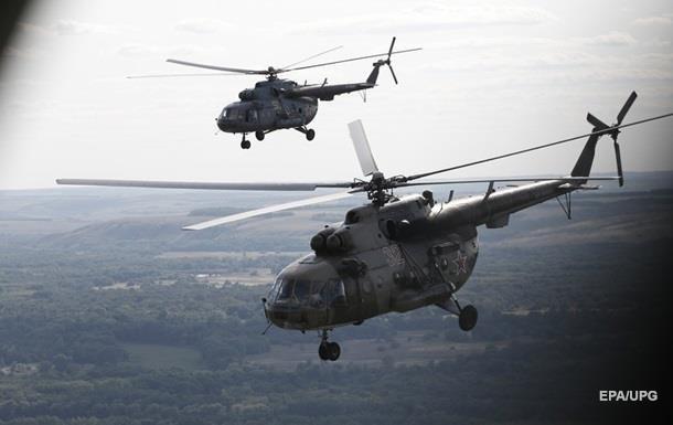Под Москвой жестко приземлился военный вертолет, экипаж погиб